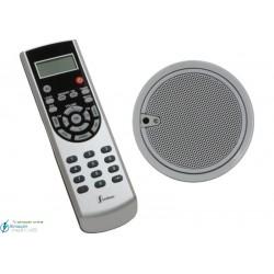 Mono 2.5'' (altavoz y mando IR color acero)