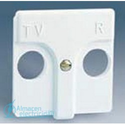 TAPA 45X45 MM. PARA R-TV SIMON SERIE 27  MARFIL