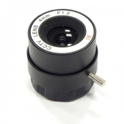 LENTE CS DE 4MM PARA CCTV OPT4MM