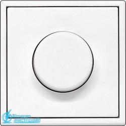 PLACA PARA DIMMER BLANCO ALPINO JUNG SERIE LS 990