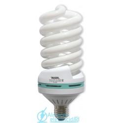 Lámpara Bajo Consumo Espiral Tubo 16mm E40 105w Lumen 6000 tono 6400k