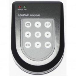 Mini DVR Portable de 2 canales ESP016