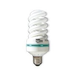 Lámpara Bajo Consumo Espiral Tubo 12mm E27 30w Lumen 1800 tono 6400k