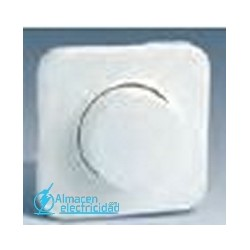 TAPA PLACA+ BOTON DIMMER REGULADOR LUZ ANCHO SIMON SERIE 31 BLANCO