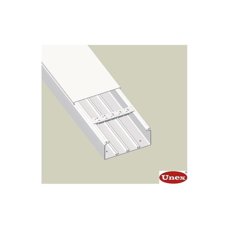 canal aislante blanco Unex 40x60 en pvc