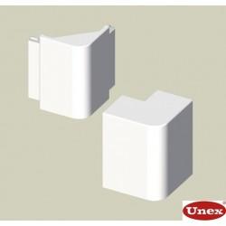 Ángulo exterior blanco para canal electrico Unex 60x150 en pvc