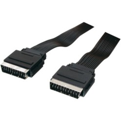 21 PINS FLAT SCART CABLE 1.50 M