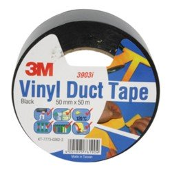 SCOTCH DUCT TAPE 2000 3M BLACK