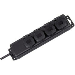 POWER STRIP 4 SOCKET IP44