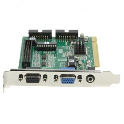 4 CHANNEL SECURITY PCI CARD