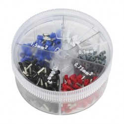 ASSORTMENT CRIMP-ON TERMINALS ISOLATED 400 PCS