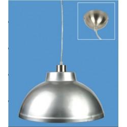 Campana Aluminio + Casquillo E40+CABLE 1.2 MTS