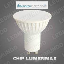BOMBILLA LED GU 5W MULTIPUNTO SATIN CALIDO