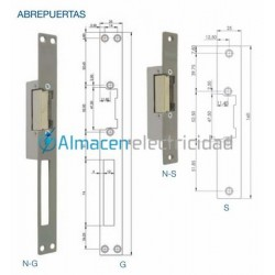 ABREPUERTAS UNIVERSAL A-S Fermax-2909