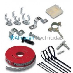 abrazadera metálica para tuberia electrica metrica 15