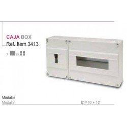 CUADRO SUPERFICIE PVC, caja ___de 1-4e. + aut. 4-8e.