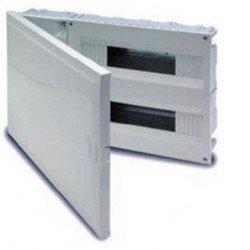 CUADRO EMPOTRAR PVC, caja de 1 a 4 elementos (ICP-40)+ aut. de 20 a 28 elementos