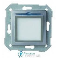 Placa basculante baliza de cortesía simon serie 82 Detail color Aluminio frio detail 82