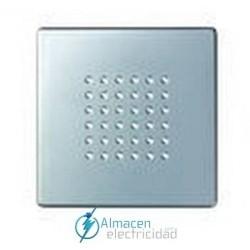 Placa zumbador y altavoz de 2W simon serie 82 Detail color Aluminio frio detail 82