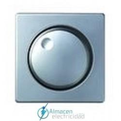 Tapa y boton regulador 500 W simon serie 82 Detail color Aluminio frio detail 82