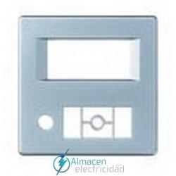 Placa radio digital con sintonizador FM simon serie 82 Detail color Aluminio frio detail 82