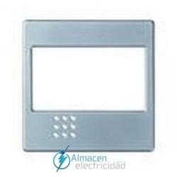 Placa para mecanismos electrónicos simon serie 82 Detail color Aluminio frio detail 82