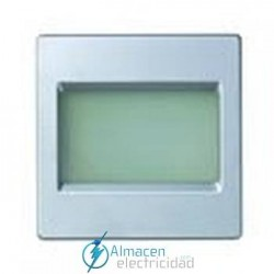Placa difusora bicolor para controles de paso simon serie 82 Detail color Aluminio frio detail 82