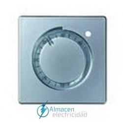 Placa para calefación con termostato simon serie 82 Detail color Aluminio frio detail 82