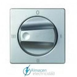 Tapa conmutador simon rotativo 4 posiciones simon serie 82 Detail color Aluminio frio detail 82