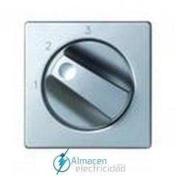 Tapa conmutadores rotativos simon serie 82 Detail color Aluminio frio detail 82