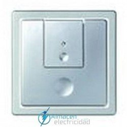 Tecla luz conmutador simon serie 82 Detail color Aluminio frio detail 82