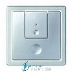Tecla doble para 2 niveles luz simon serie 82 Detail color Aluminio frio detail 82