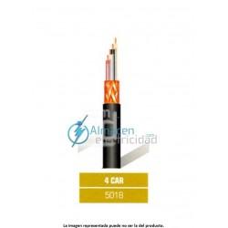 Cable de micrófono balanceado profesional 4 CAR/N