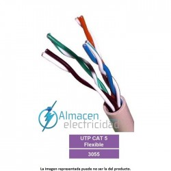 Cable de datos tipo FTP CAT.5 FLEXIBLE