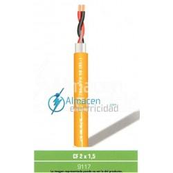 Cables pareado para megafonía CF 2 x 1,5 FRLSZH