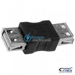 ADAPTADOR USB TIPO A HEMBRA-A MACHO