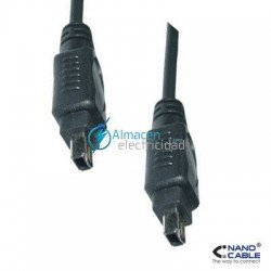 CABLE FIREWIRE (IEEE1394A)DE 4 PINES/MACHO-4 PINES/MACHO 400MBPS DE VELOCIDAD 1,8 METROS