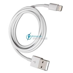 CABLE TIPO LIGHTNING PARA IPHONE A USB 2.0 CONEXIÓN LIGHTNING/MACHO-USB TIPO A/MACHO 2 METROS DE LARGO