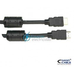 CABLE HDMI CON FERRITA MACHO-MACHO V1.3 DE 10 METROS