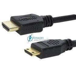 CABLE HDMI A MINI HDMI MACHO-MACHO V1.3 DE 3 METROS