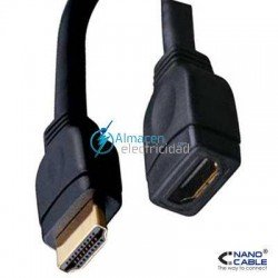 CABLE HDMI PROLONGADOR V1.3 MACHO-MACHO 1 METRO