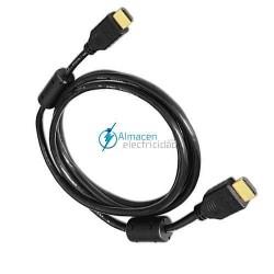 CABLE HDMI V1.4 CON FERRITA MACHO-MACHO DE 1,8 METROS