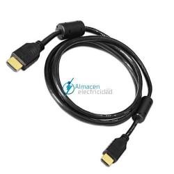 CABLE HDMI V1.4 CON FERRITA MACHO-MACHO DE 3 METROS