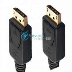 CABLE DISPLAYPORT MACHO-MACHO 2 METROS