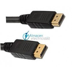 CABLE DISPLAYPORT MACHO-MACHO 3 METROS
