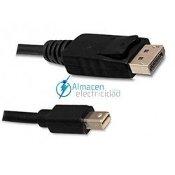 CABLE MINI DISPLAYPORT A DISPLAYPORT MACHO-MACHO 2 METROS
