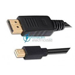 CABLE MINI DISPLAYPORT A DISPLAYPORT MACHO-MACHO 3 METROS