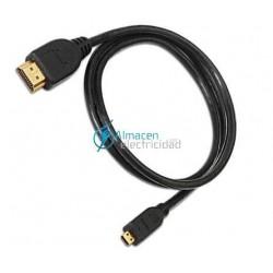 CABLE HDMI MACHO-MICRO HDMI MACHO V1.4 DE 1,8 METROS