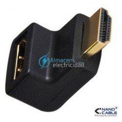 ADAPTADOR HDMI ACODADO V1.3 HEMBRA-MACHO