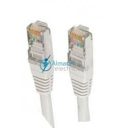 CABLE RED RJ45 CAT 5E SFTP 1M
